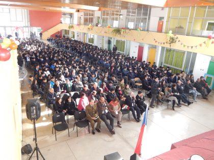 Comienza Sexto Aniversario de nuestro Liceo con Acto Oficial
