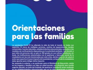 ORIENTACIÓN PARA LAS FAMILIAS