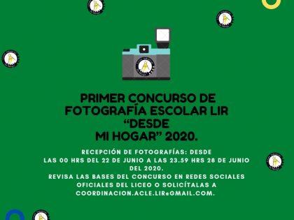 1ER CONCURSO FOTOGRAFÍA ESCOLAR LIR